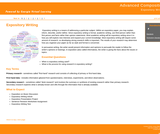 GVL - Informative/Expository Writing