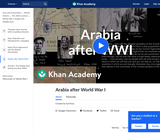 Arabia after World War I
