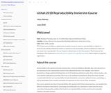 Reproducibility Immersive Course