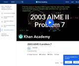 2003 AIME II Problem 7