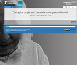 HELM Open - Person-centred dementia care - Caring for people with dementia in the general hospital
