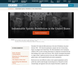 Indomitable Spirits: Prohibition in the United States