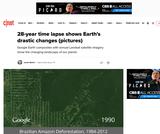 Brazilian Amazon Deforestation (image)