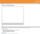 GVL - Coding: Constructing the Site