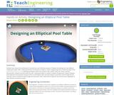 Designing an Elliptical Pool Table