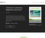 Introduction to Electricity, Magnetism, and Circuits