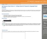GVL - AP Practice Exam Items A