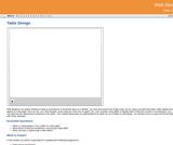 GVL - Table Design