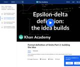 Building the idea of epsilon-delta definition