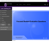 Wisc-Online Focused Student Evaluation Questions