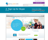 Sign Up for Skype