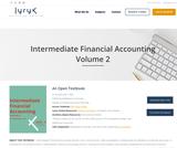 Intermediate Financial Accounting Volume 2
