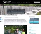 Addressing Short- and Long-Term Risks to Water Supply