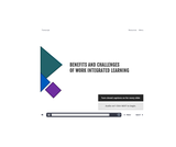 WIL Module 1.2 - Benefits and Challenges of Work Integrated Learning